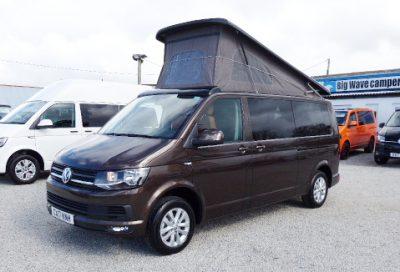 VW T6 Highline Long Wheel Base 102ps Camper Campervan Conversion, (2017)  Campervans for sale in South West