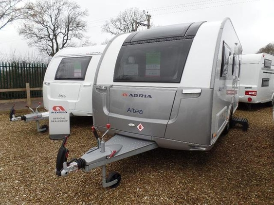 ADRIA ALTEA EDEN SILVER EDITION 472 DS in Wick with Todd, 5 Berth, (2016) Used Touring Caravans for sale