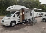 Elddis Autoquest 150 4 Berth good size with large L shaped lounge Motorhome, 4 Berth, (2007) Used Motorhomes for sale
