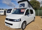 VW (Volkswagen) T28 CAMPER SWB – PJ62 YPK, 4 Berth  Touring Caravans for sale