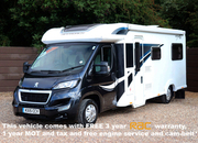 Bailey Approach Autograph 765, 6 Berth, (2015) Used Motorhomes for sale