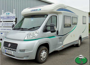 Chausson Welcome 78 Fiat Ducato, 3 Berth, (2013) used Motorhomes for sale