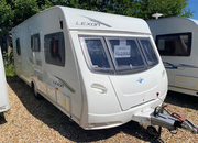 Lunar Lexon si Fixed Island bed Motor mover included, 5 Berth, (2011)  Touring Caravans for sale