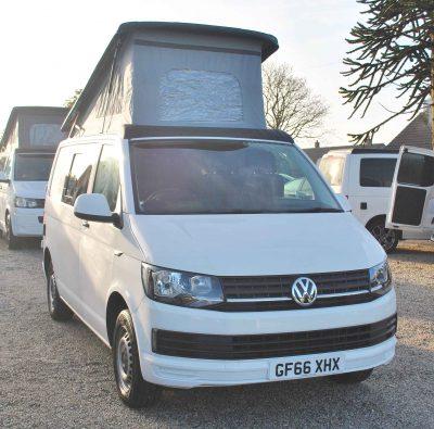 Vw Volkswagen Transporter 102 Ps Pop Top Conversion Camper