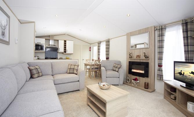 Atlas Sherwood Lodge-2, 6 berth, (2017) Brand new Lodge for sale