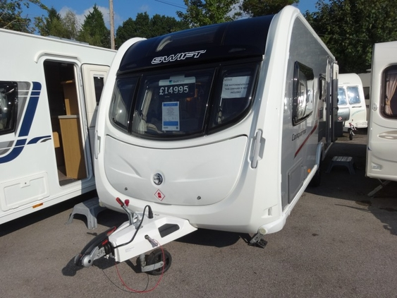 Swift Conqueror 530, (2012) New Campervans for sale in