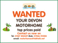 Devon High Top, 2 berth, (1997) Used - Good condition Motorhomes for sale