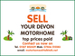 Devon High Top, 2 berth, (1997) Used - Good condition Motorhomes for sale for sale