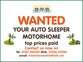 Auto-Sleeper All Models, 2 berth, (1995) Used - Good condition Motorhomes for sale