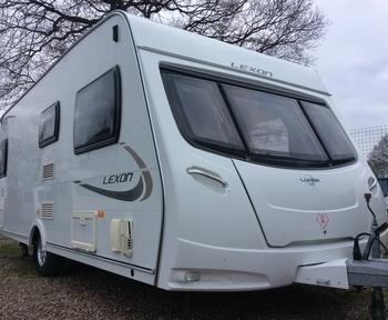 Lunar Lexon 520, 3 berth, (2013) Used - Good condition Touring Caravans for sale