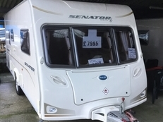 Bailey Senator Vermont , 2 berth, (2009) Used - Good condition Touring Caravans for sale