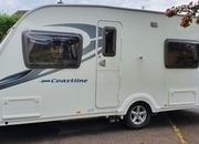 Sterling Coastline Excel 550, 4 berth, (2010) Used - Good condition Touring Caravans for sale