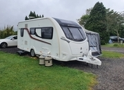 Swift Conqueror 480, 2 berth, (2016) Used - Good condition Touring Caravans for sale