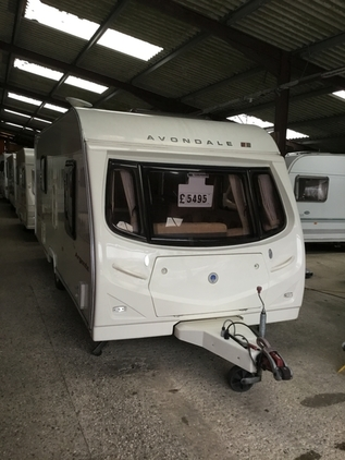 Avondale 540/4, 4 berth, (2006) Used - Good condition Touring Caravans for sale