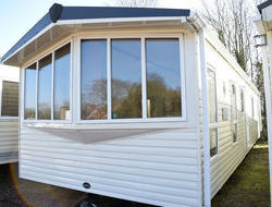 ABI elan, > 7 berth, (2009) Used - Average condition for age Static Caravans for sale