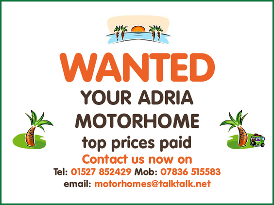 Adria All Coachbuilt & High Top Models, 4 berth, (1997) Used - Good condition Motorhomes for sale