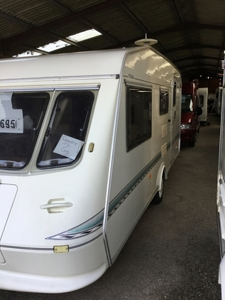 Elddis Typhoon 4 berth , 4 berth, (1998) Used - Good condition Motorhomes for sale