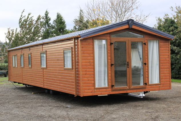 UK PINEWOOD LODGE, 4 berth, (2018) Brand new Lodge for sale